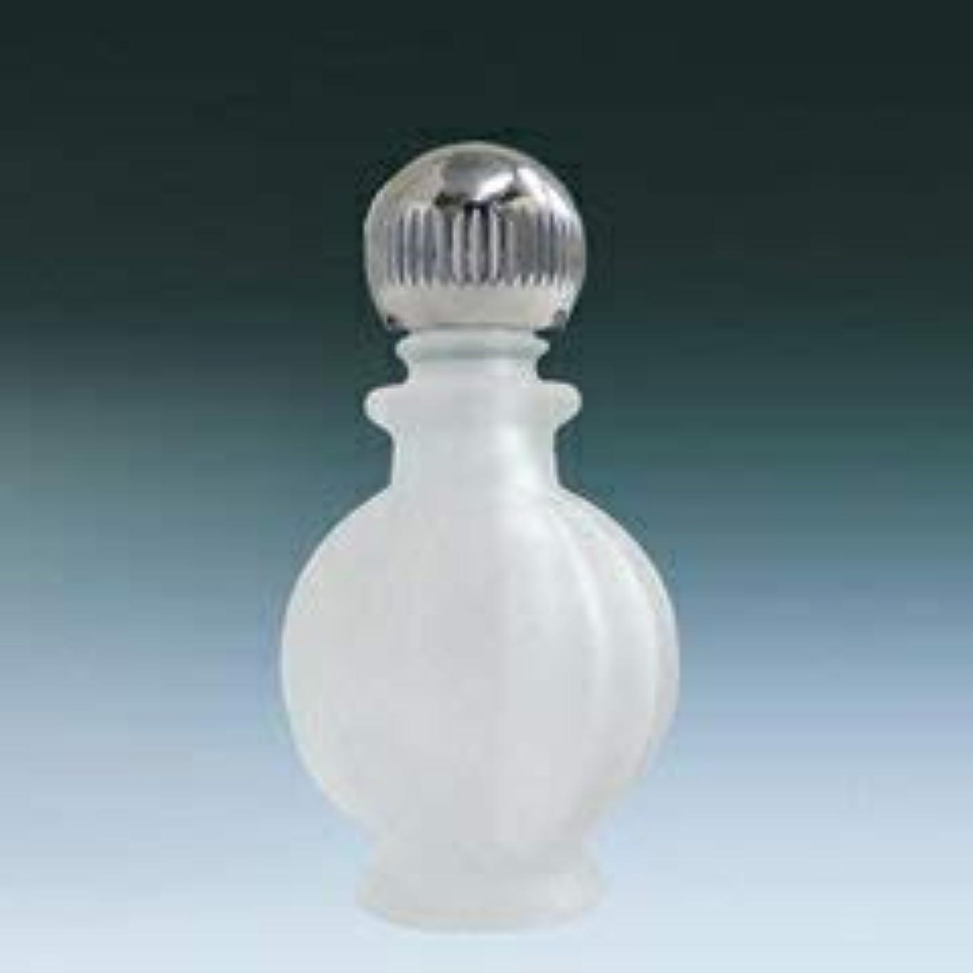 【ヤマダアトマイザー】パフュームボトル 小ビン 70622 カボチャ フロスト シルバー 約2ml