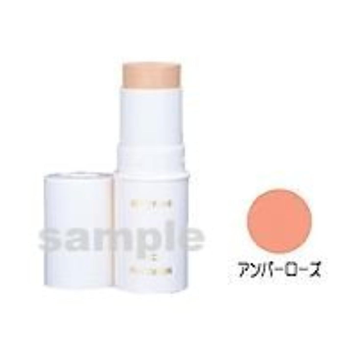 役立つ版乳製品三善 スティックファンデーション ハロウィンメイク コスプレメイク カラー:アンバーローズ (H)