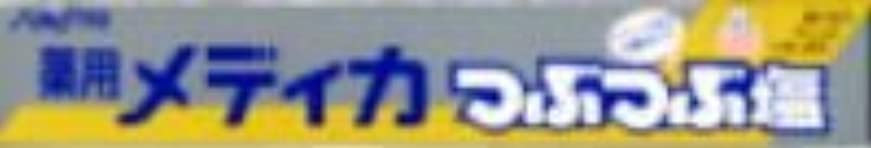 バッジ組抗議サンスター 薬用メディカ つぶつぶ塩 170g×80点セット (4901616005266)
