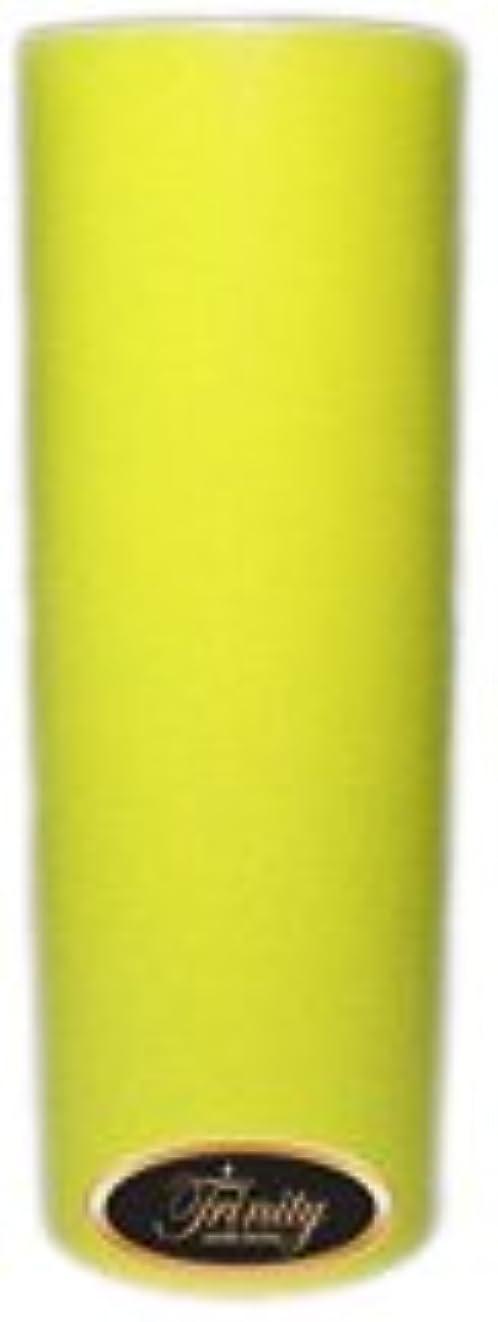 剪断五月徒歩でTrinity Candle工場 – レモングラス – Pillar Candle – 3 x 9