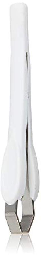 手入れフェミニン平均ラバーグリップ先太毛抜き QQ-507