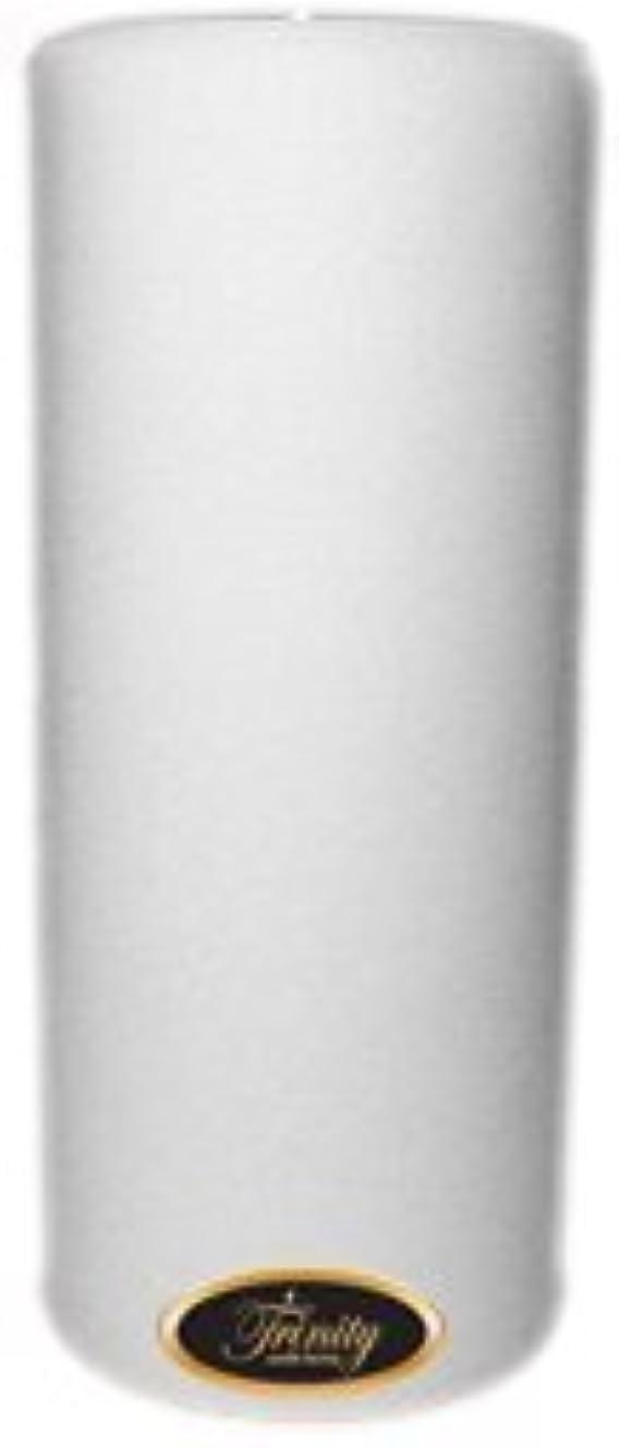 漏斗大いにマイルTrinity Candle工場 – Fresh Linen – Pillar Candle – 4 x 9