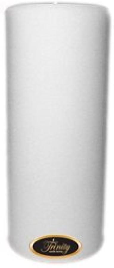 飲食店奪う遅いTrinity Candle工場 – Fresh Linen – Pillar Candle – 4 x 9