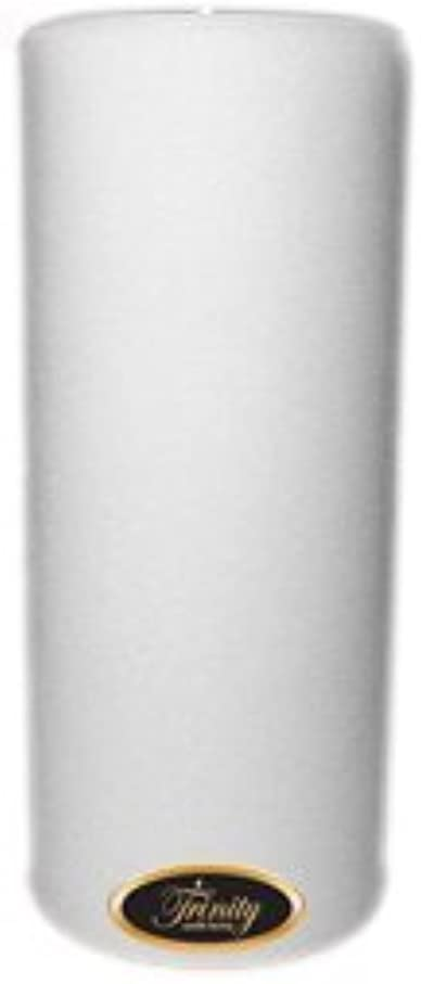 見るすべき取り囲むTrinity Candle工場 – Fresh Linen – Pillar Candle – 4 x 9