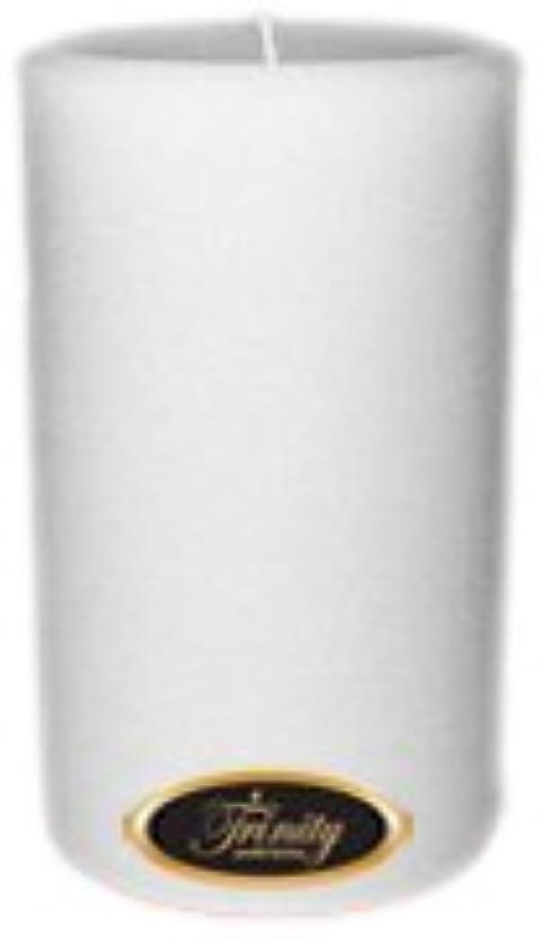 進むペフ一般的なTrinity Candle工場 – Fresh Linen – Pillar Candle – 4 x 6