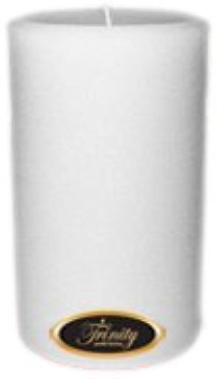 キロメートルコートバージンTrinity Candle工場 – Fresh Linen – Pillar Candle – 4 x 6