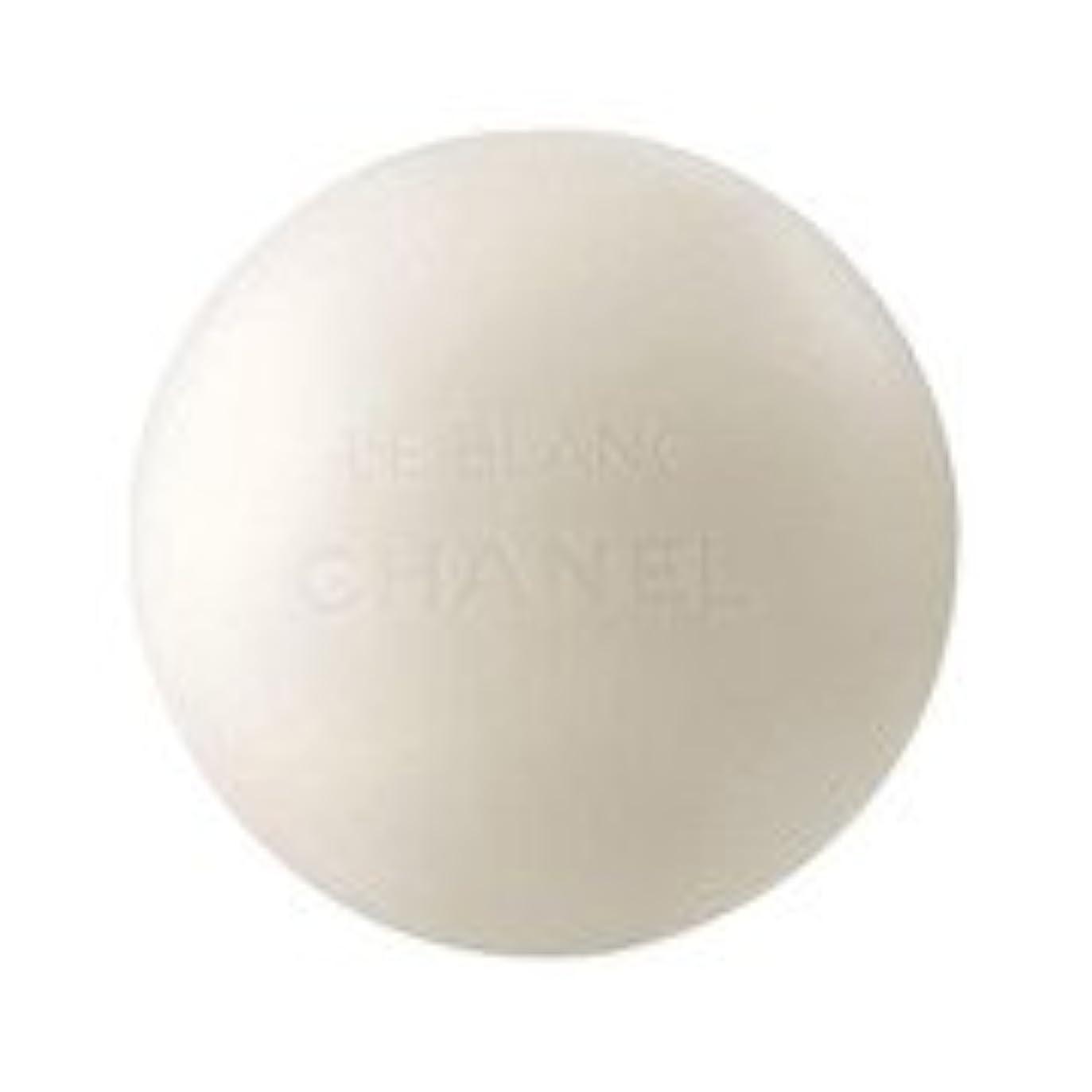 推定する環境に優しい振り向くシャネル ル ブラン ソープ 100g