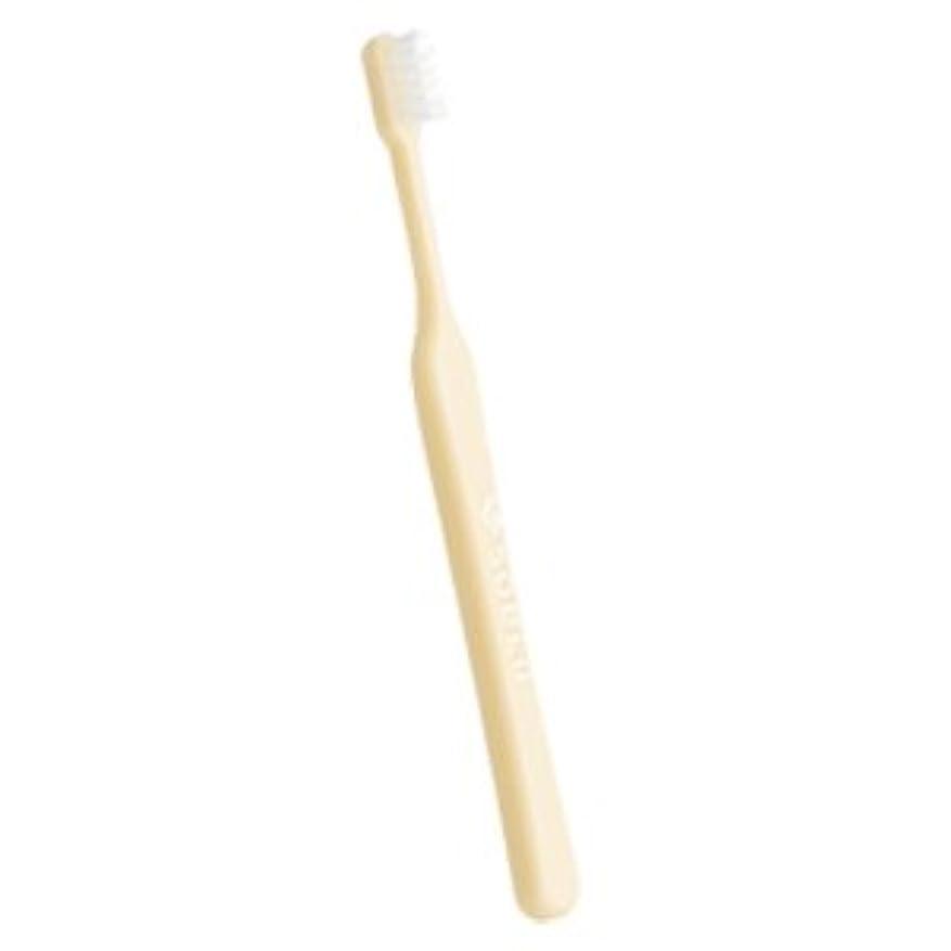 強打レッスン多様体soelu ソエル 歯ブラシ チャイルド(3から7歳) 1本 ふつう(M) パステルイエロー