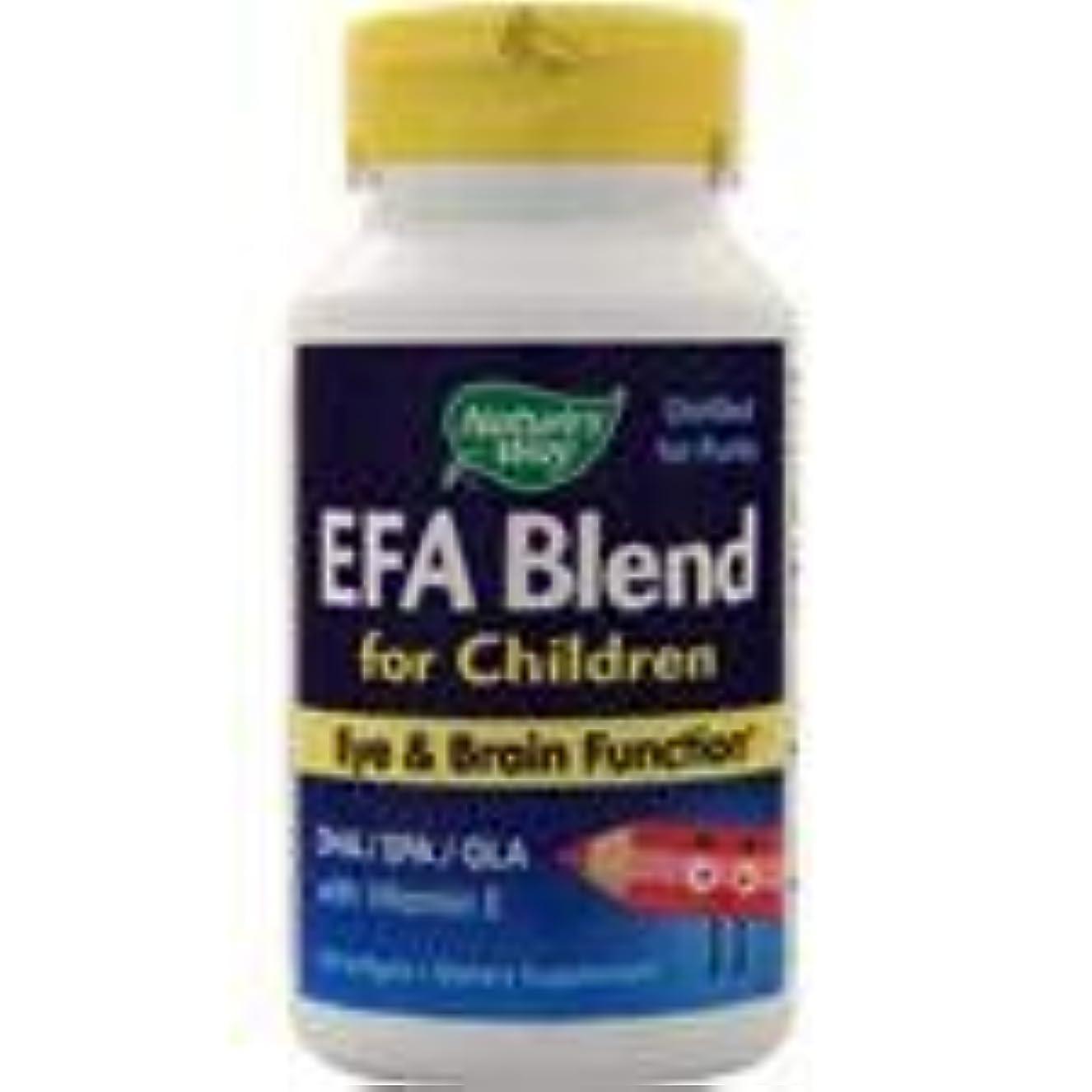 延期する影重要な役割を果たす、中心的な手段となる子供のためのEFAブレンド  120 sgels  3個パック