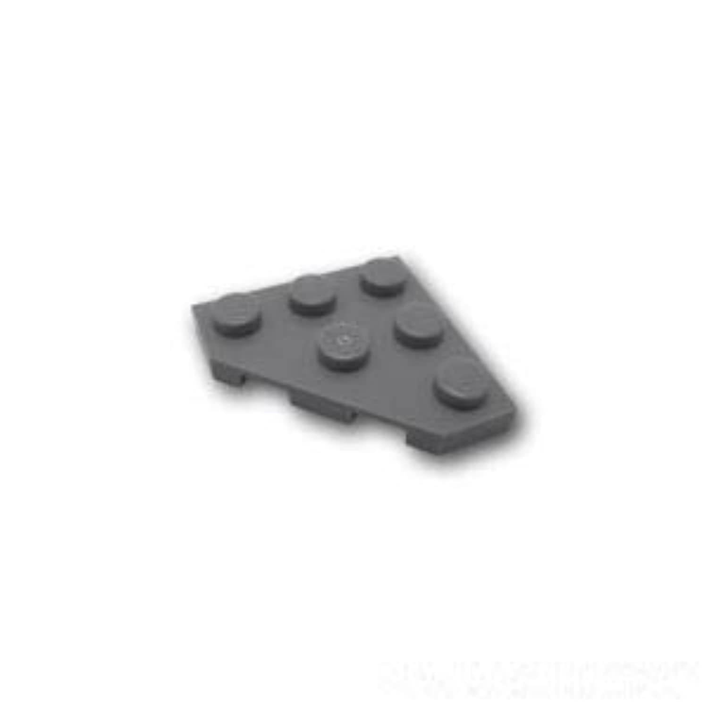 レゴブロック ばら売りパーツ ウェッジプレート 3 x 3 - コーナーカット:[Dark Bluish Gray / ダークグレー] [並行輸入品]