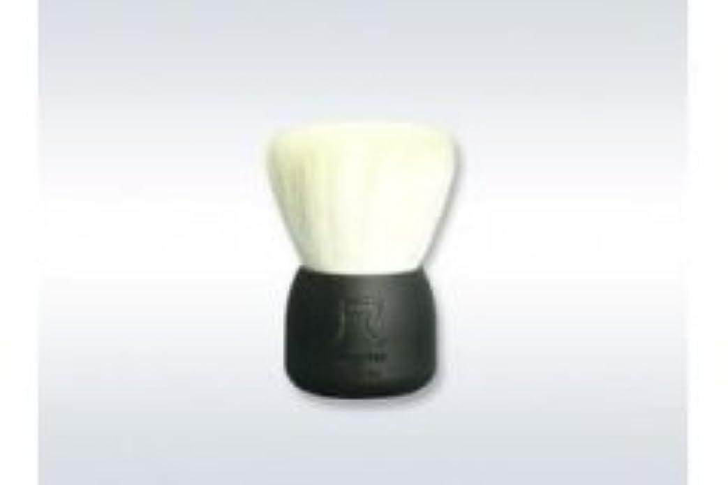 同様のそれに応じてで出来ている瑞穂化粧筆 尺 洗顔ブラシ(黒)/熊野筆
