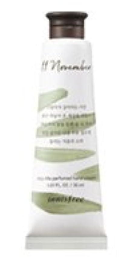 アスペクトモードリン爆発[1+1] イニスフリー 済州ライフパフューム ハンドクリーム (11月 秋の落葉) / Innisfree Jeju life Perfumed Hand Cream 30ml [並行輸入品]