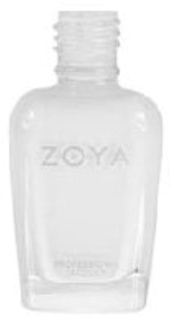 カーテン眉をひそめるレッスン[Zoya] ZP388 ピュリティ (グロスホワイト)[並行輸入品][海外直送品]
