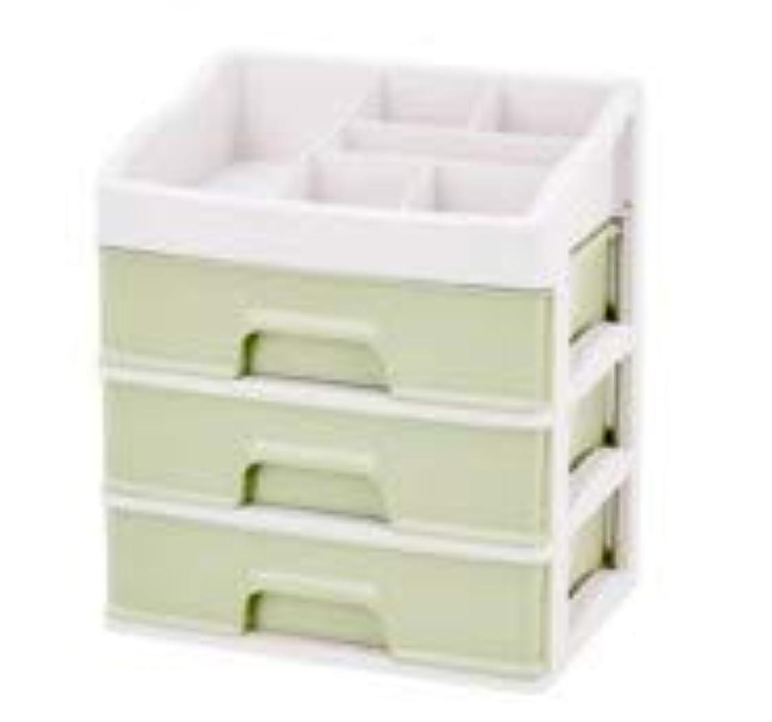 目的撤回するうめき化粧品収納ボックス引き出しデスクトップ収納ラック化粧台化粧品ケーススキンケア製品 (Size : L)