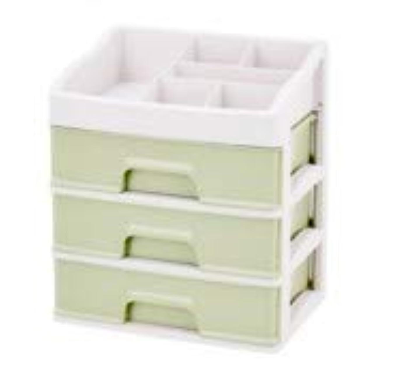 対処基本的な類似性化粧品収納ボックス引き出しデスクトップ収納ラック化粧台化粧品ケーススキンケア製品 (Size : L)