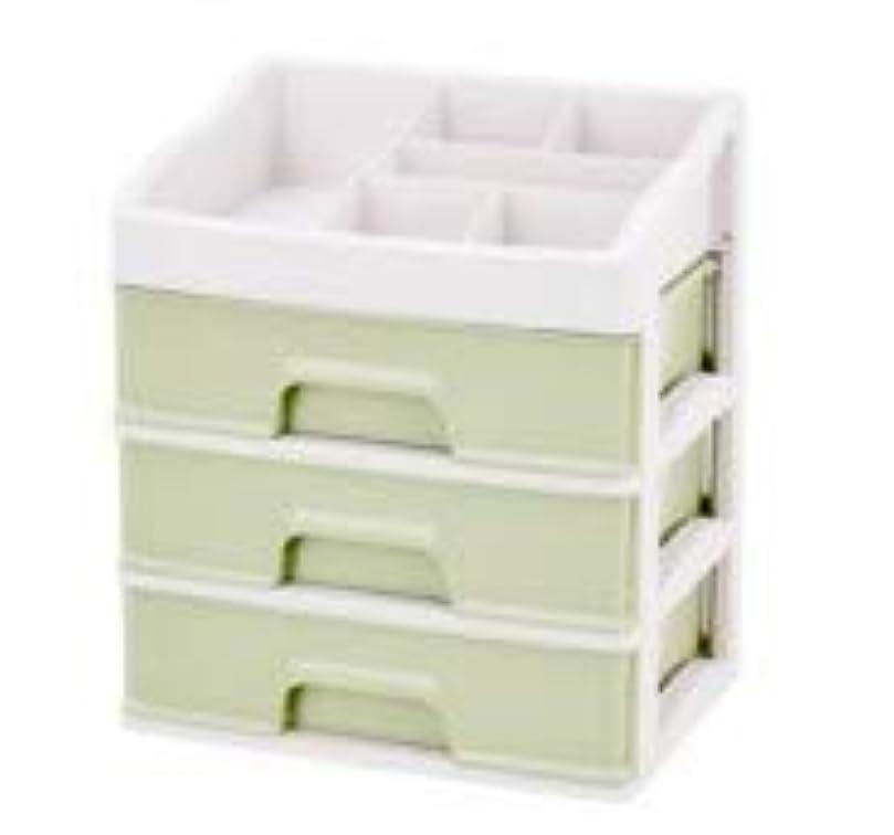 風変わりなバインド額化粧品収納ボックス引き出しデスクトップ収納ラック化粧台化粧品ケーススキンケア製品 (Size : L)