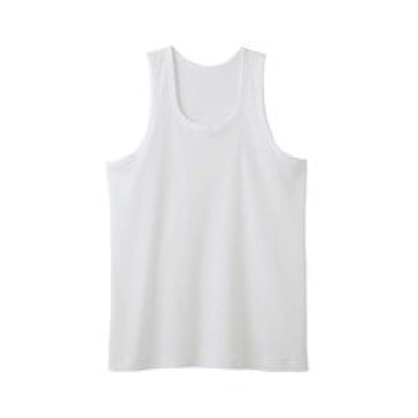 業界選ぶ一杯グンゼ GUNZE RC2420A-03-L シーズン涼感平台 抗菌防臭 ランニングシャツ(2枚組) L ホワイト/メンズ