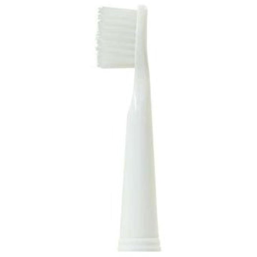 司教居心地の良いシャープ【まとめ 2セット】 DRETEC TB-400 500対応 替えブラシ 微細毛ブラシ KB-307WT
