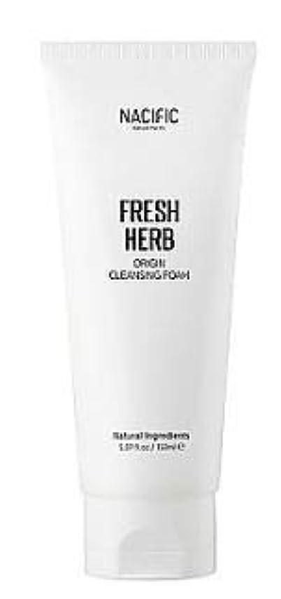 タイピストフレア独立して[Nacific] Fresh Herb Origin Cleansing Foam 150ml /[ナシフィック] フレッシュ ハーブ オリジン クレンジングフォーム150ml [並行輸入品]