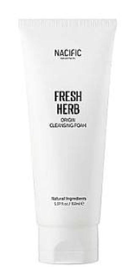 義務づけるくぼみショット[Nacific] Fresh Herb Origin Cleansing Foam 150ml /[ナシフィック] フレッシュ ハーブ オリジン クレンジングフォーム150ml [並行輸入品]