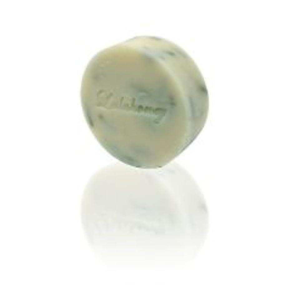 見える突破口縫い目LALAHONEY 石鹸〈グリーン&レモン〉40g【手作りでシンプルなコールドプロセス製法】