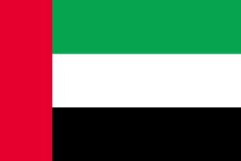 世界の国旗 アラブ首長国連邦 国旗 [100×150cm 高級テトロン製]