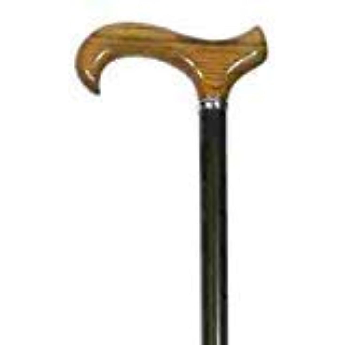 市民選挙むちゃくちゃBrown Gents Shock-absorbing Walking Cane - Fully Height Adjustable - 79-102cm by Classic Canes