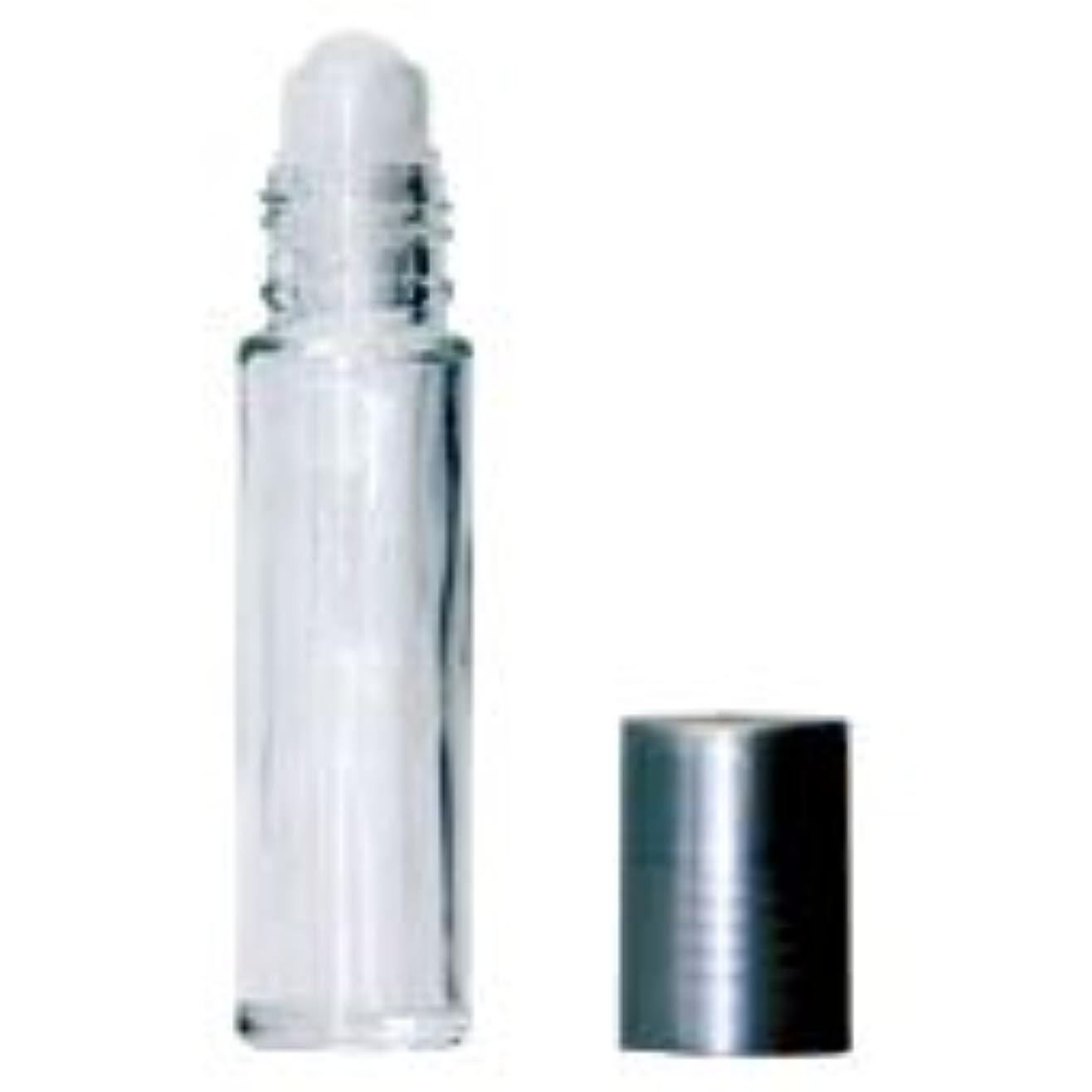 花瓶予言する流ロールオンボトル シルバーキャップ 10mL×4本セット
