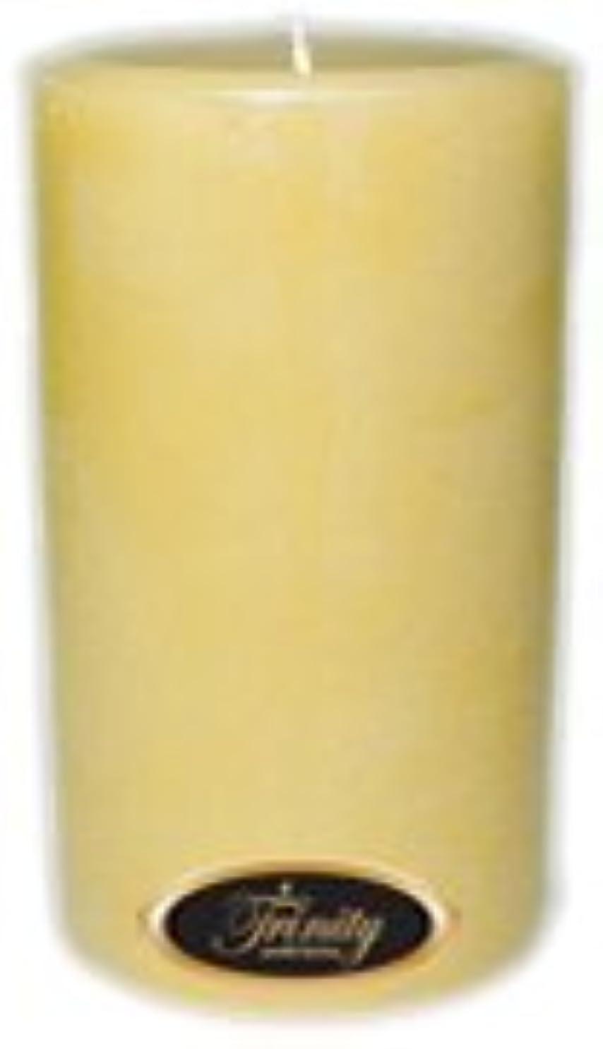 名目上の薄める仕出しますTrinity Candle工場 – クリーミーバニラ – Pillar Candle – 4 x 6
