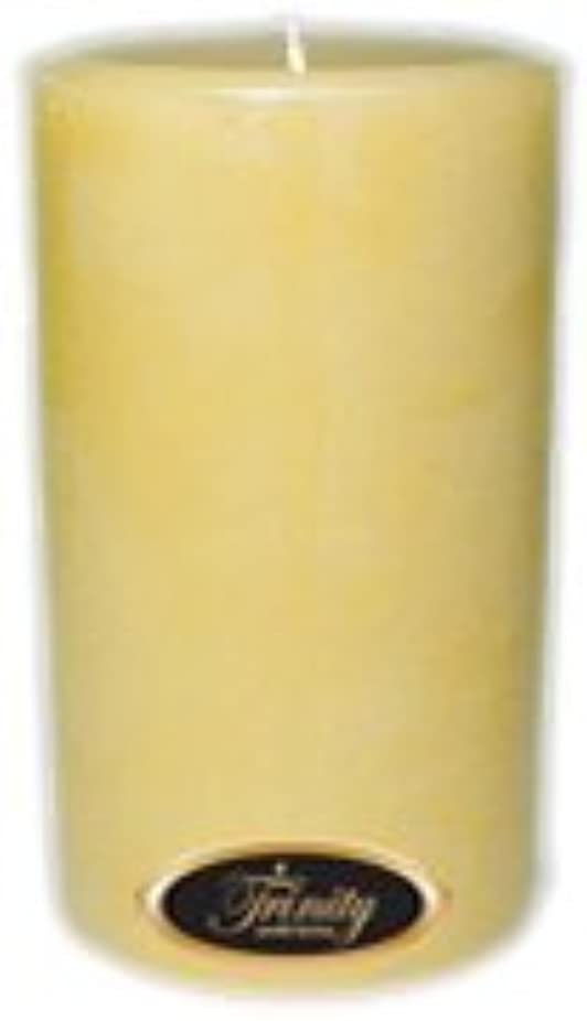 Trinity Candle工場 – クリーミーバニラ – Pillar Candle – 4 x 6