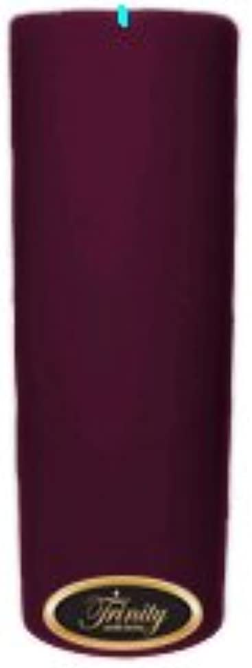 飢えた最高しっかりTrinity Candle工場 – Wisteria – Pillar Candle – 3 x 9