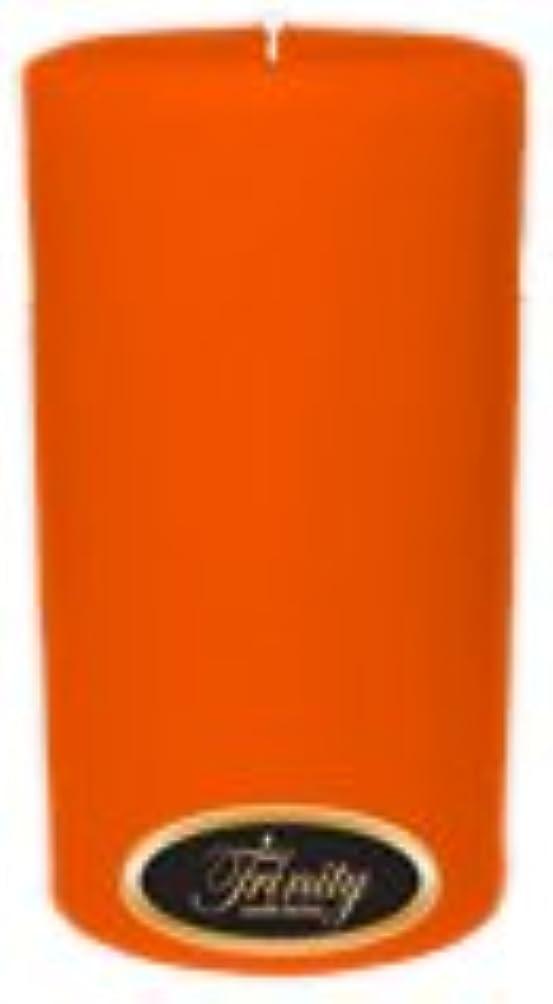 恐怖症キャラバン分泌するTrinity Candle工場 – フロリダオレンジ – Pillar Candle – 3 x 6
