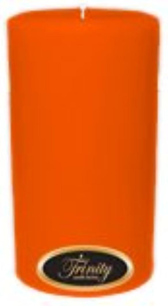 ベッドを作る策定するうがいTrinity Candle工場 – フロリダオレンジ – Pillar Candle – 3 x 6