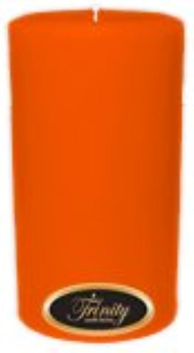 大いに章合金Trinity Candle工場 – フロリダオレンジ – Pillar Candle – 3 x 6