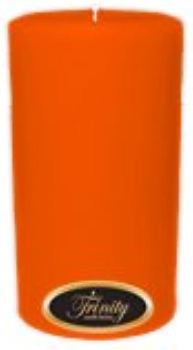 胆嚢純粋な土砂降りTrinity Candle工場 – フロリダオレンジ – Pillar Candle – 3 x 6
