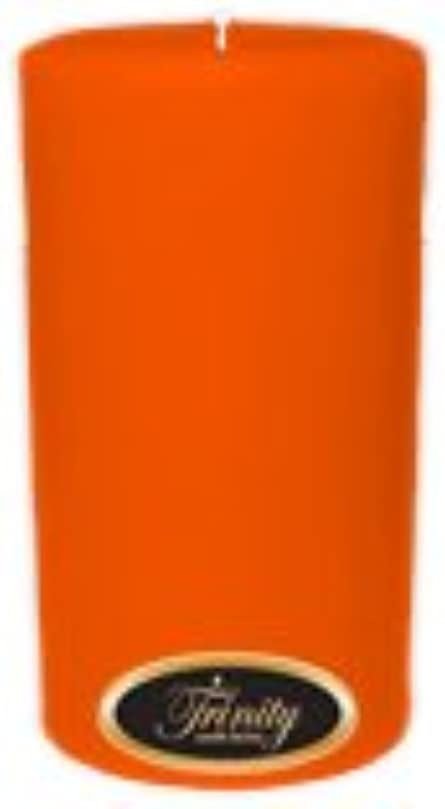 Trinity Candle工場 – フロリダオレンジ – Pillar Candle – 3 x 6