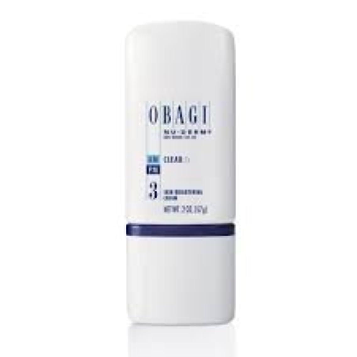 悩み耕す穴Obagi Nu Derm Clear Fx Skin Brightening Cream 2 oz/57.gオバジクリーム [並行輸入品]