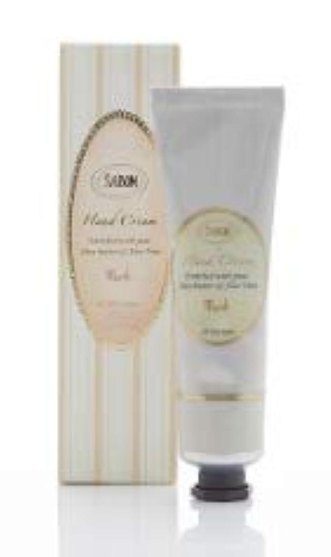 前方へ適用済みパプアニューギニアSABON(サボン)ハンドクリーム Hand Cream (50ml) (ムスク)