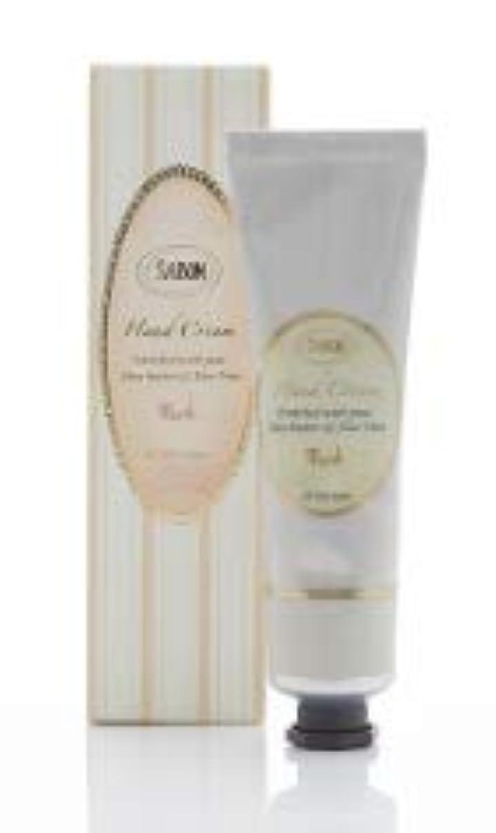 トチの実の木凝縮するここにSABON(サボン)ハンドクリーム Hand Cream (50ml) (ムスク)