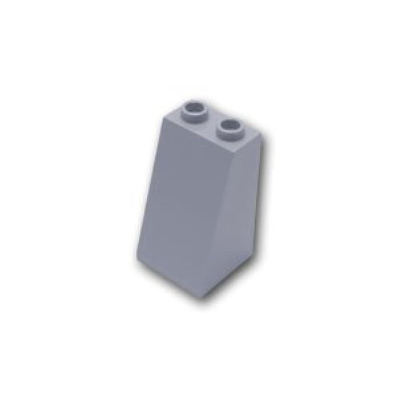 レゴブロックパーツ スロープ ブロック 2 x 2 x 3 / 75°:[Light Bluish Gray / グレー]【並行輸入品】