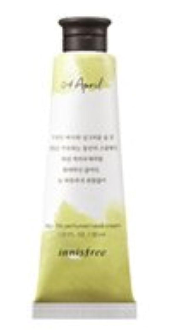 骨折安定した爆発するInnisfree Jeju life Perfumed Hand Cream (4月 スモールウェディングブーケ) / イニスフリー 済州ライフ パフューム ハンドクリーム 30ml [並行輸入品]