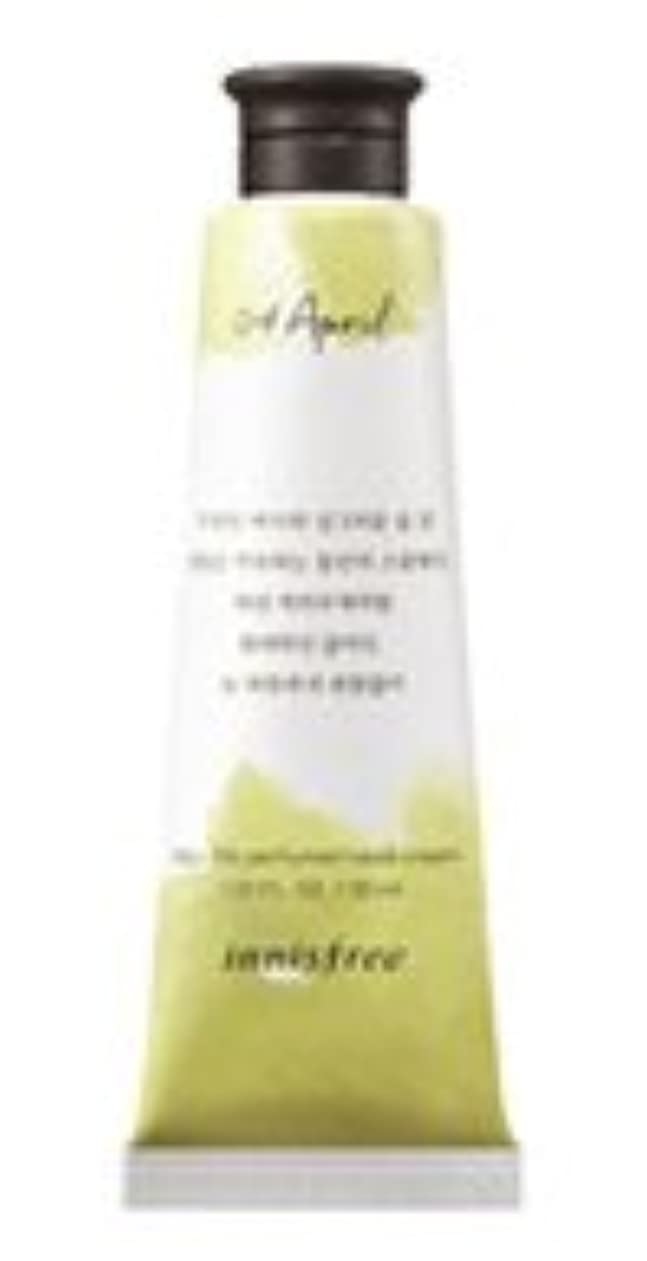 こしょう統治可能近傍Innisfree Jeju life Perfumed Hand Cream (4月 スモールウェディングブーケ) / イニスフリー 済州ライフ パフューム ハンドクリーム 30ml [並行輸入品]