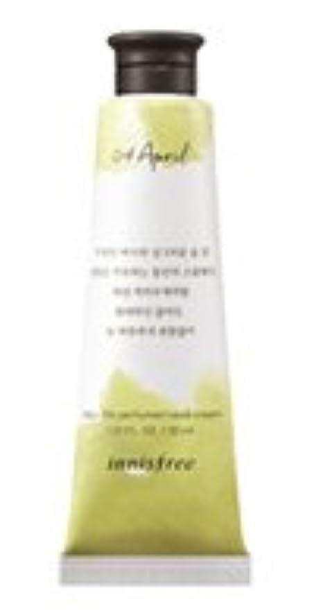 淡いエミュレーション野心的Innisfree Jeju life Perfumed Hand Cream (4月 スモールウェディングブーケ) / イニスフリー 済州ライフ パフューム ハンドクリーム 30ml [並行輸入品]