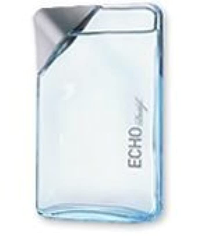 誤解を招く体支援Echo (エコー) 0.34 oz EDT Mini(ミニチュア) by Davidoff for Men