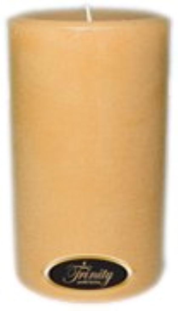 若い下位実質的Trinity Candle工場 – サンダルウッド – Pillar Candle – 4 x 6