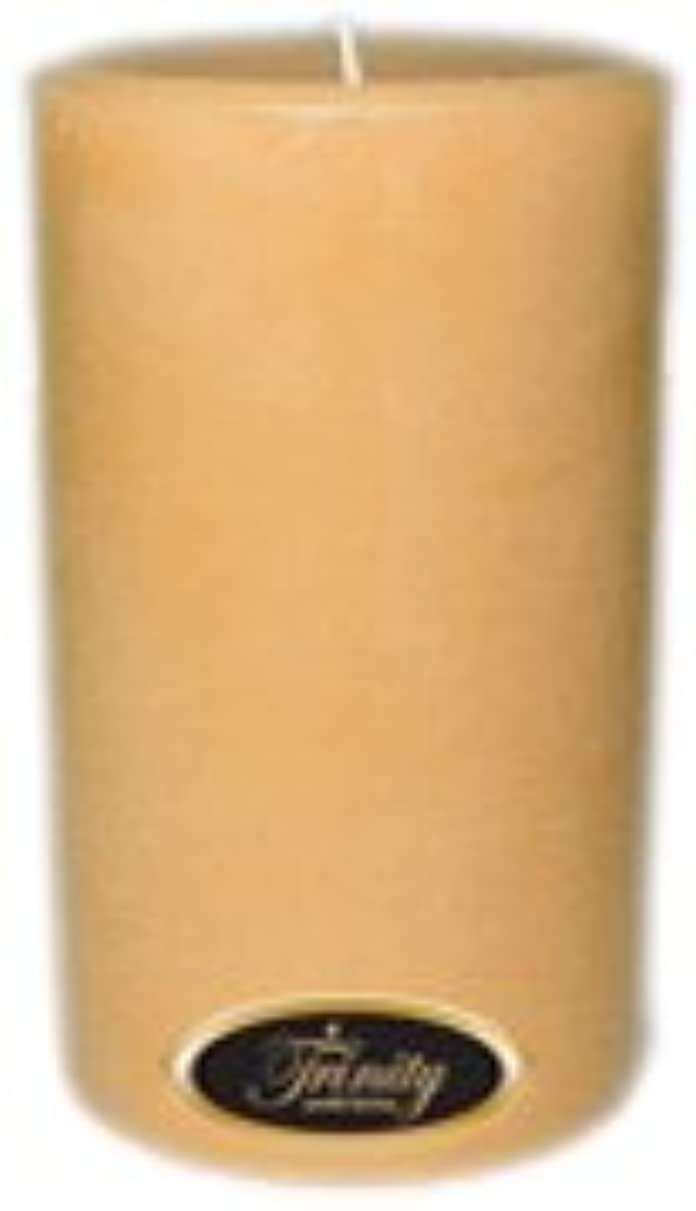 対角線ワイヤー気質Trinity Candle工場 – サンダルウッド – Pillar Candle – 4 x 6