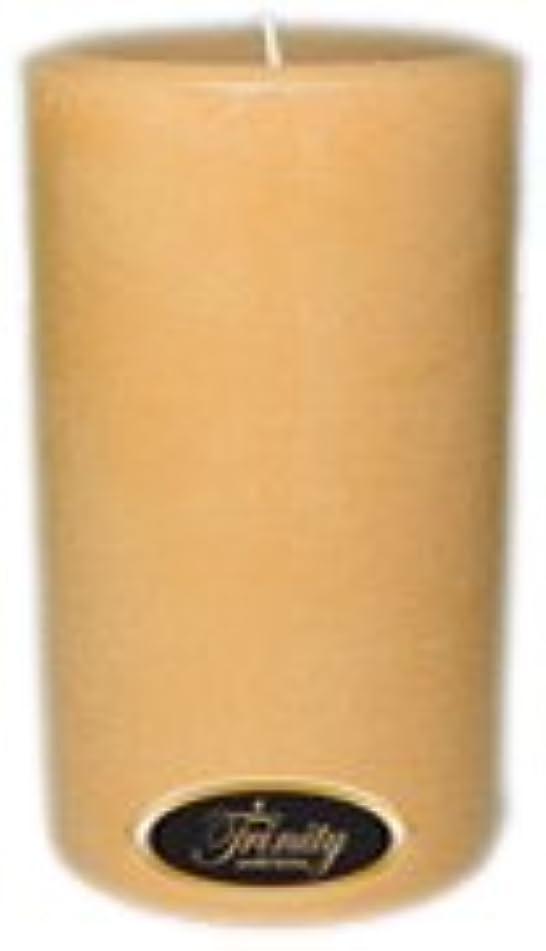 好色な美人花嫁Trinity Candle工場 – サンダルウッド – Pillar Candle – 4 x 6