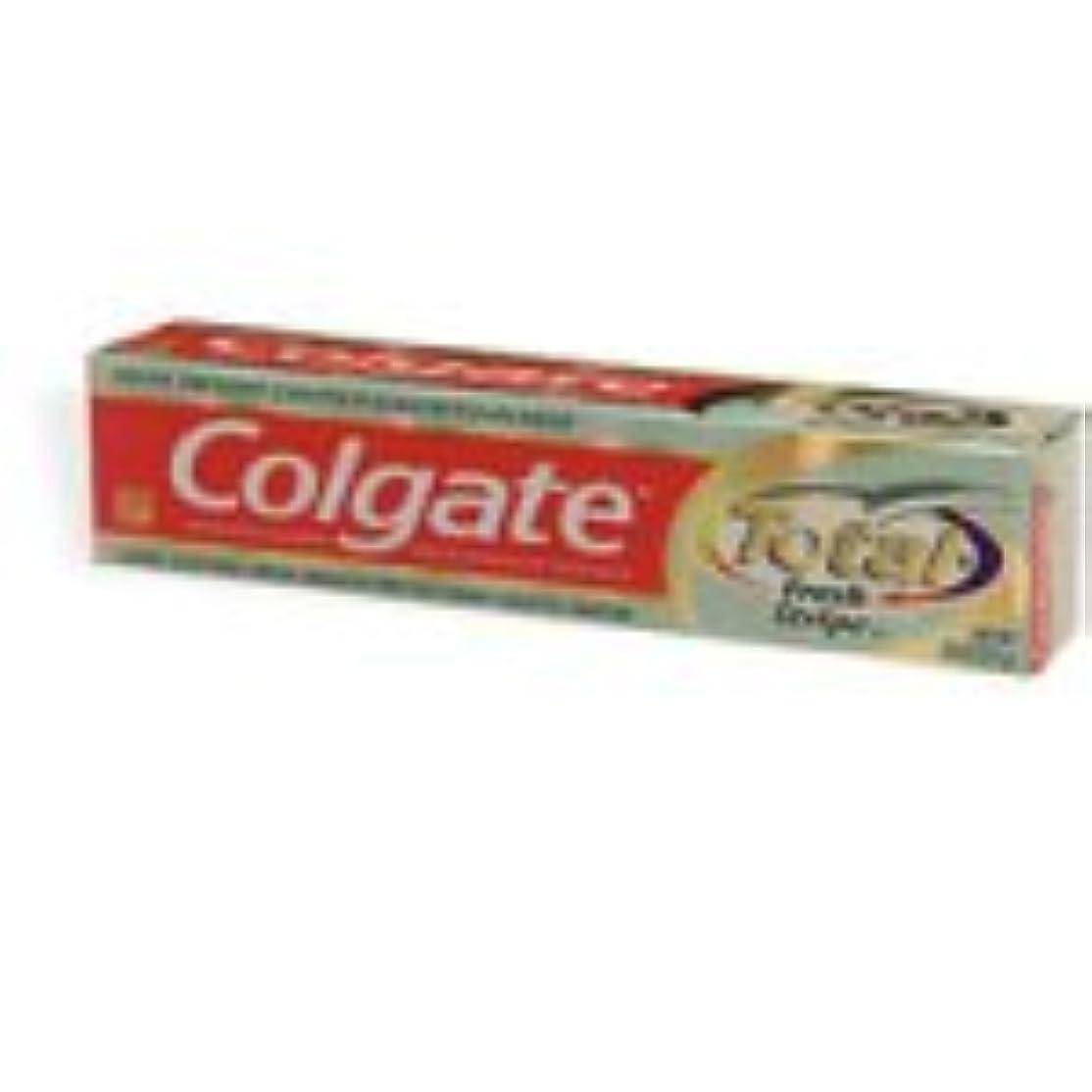 集めるゴールド小包Colgate 合計12時間マルチプロテクションの歯磨き粉、ミントストライプ(7.8オンス)