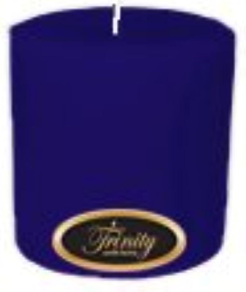 熟達顕著泥Trinity Candle工場 – Blueberry Fields – Pillar Candle – 4 x 4