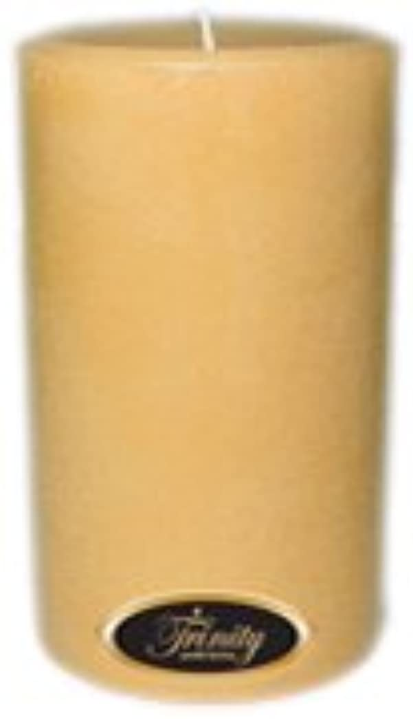 著作権納屋生きているTrinity Candle工場 – レザー – Pillar Candle – 4 x 6